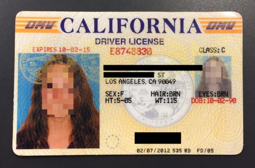 A fake California driver's license. This student reported using it at a wide range of New York City venues, including high-end clubs like Lavo NYC.